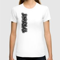 *FOR ZIP UP HOODIE  Womens Fitted Tee White SMALL