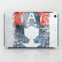 Yankee Captain grunge superhero iPad Case