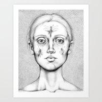 Acus-punctum Insecta (Se… Art Print
