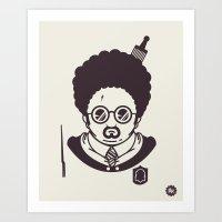 Barry Potter Art Print