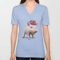 Miss Piggy Unisex V-Neck