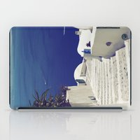 Santorini Stairs II iPad Case