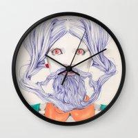 An Allusion  Wall Clock