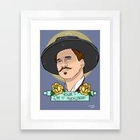 Doc Holliday Framed Art Print