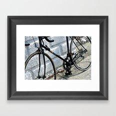 Urban Pedal Framed Art Print
