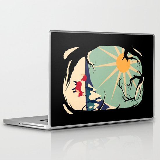 Fox roaming around II Laptop & iPad Skin