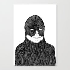 Shaved Chewbacca Canvas Print