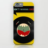 iPhone & iPod Case featuring Don´t wanna die!!! by Juliana Rojas   Puchu