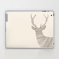 Stag / Deer (On Beige) Laptop & iPad Skin