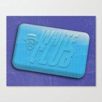 White Club Canvas Print