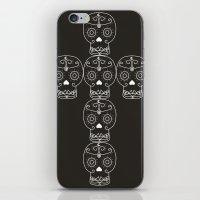 Skull Cross iPhone & iPod Skin
