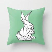 Bunny or 兔子 (Tùzǐ), 2014. Throw Pillow