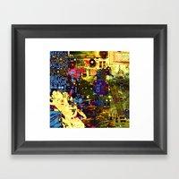 Circuit Board Lost Framed Art Print