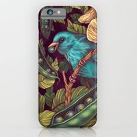 iPhone Cases featuring World Peas by Kate O'Hara Illustration