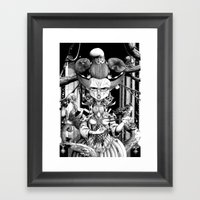 Marianne, The Red Queen Framed Art Print