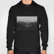 Mountain Landscape Black… Hoody