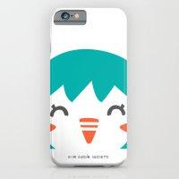 iPhone & iPod Case featuring PINGUINO by Mi Jardín Secreto