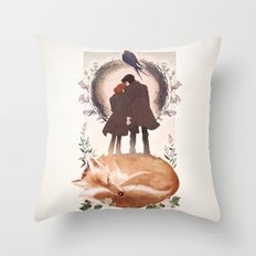 Fable Of Mulder And Scul… Throw Pillow