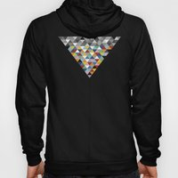 Triangles with Topper Hoody