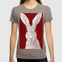 Red Rabbit  Womens Fitted Tee Tri-Coffee SMALL