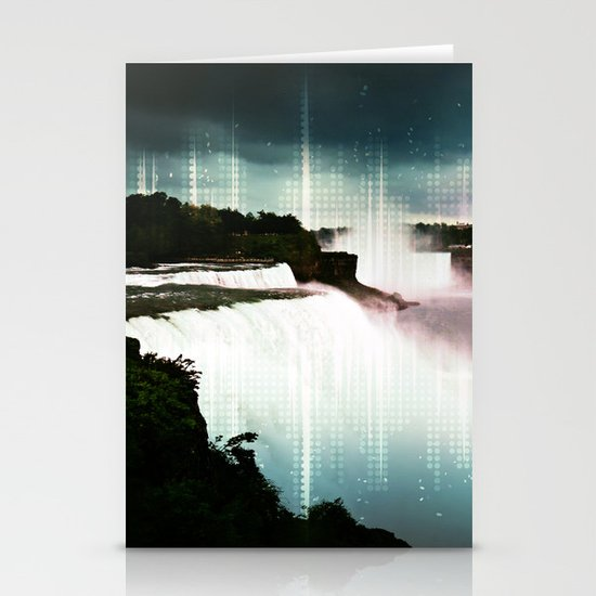 Into the Mist Stationery Card