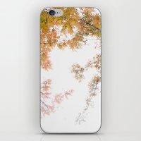 Autumn Origami iPhone & iPod Skin
