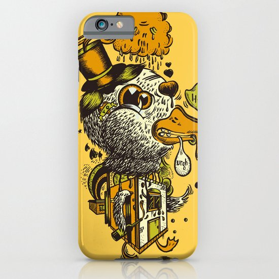 A Disorientated Duck Goes For A Stroll iPhone & iPod Case
