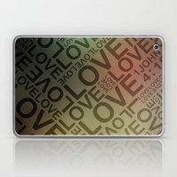 L O V E {II} Laptop & iPad Skin