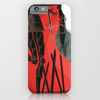 iPhone & iPod Case featuring Knight of Swords by Noelle Stevenson