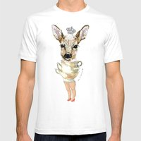Bambi  Mens Fitted Tee White SMALL