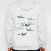 Flying Birds Hoody
