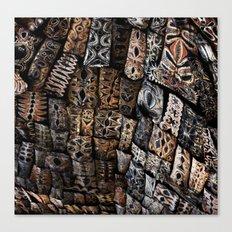 Viking Tribal Canvas Print