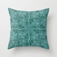 Crying Hearts 2 Throw Pillow