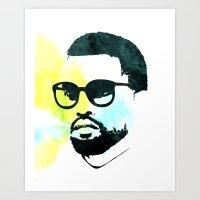 K' Art Print
