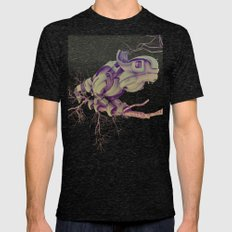 CYBORG CAMALEON Mens Fitted Tee Tri-Black SMALL