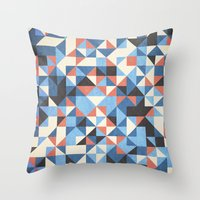 pattern #24 Throw Pillow