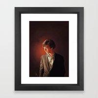 The Detective - Sherlock Framed Art Print