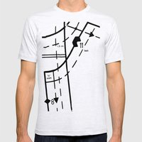 Pattern Master #2 Mens Fitted Tee Ash Grey SMALL