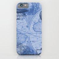 Steampunks in Blue iPhone 6 Slim Case