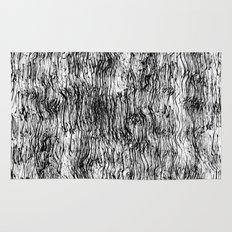 Black Pattern#4 Rug