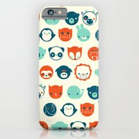 iPhone & iPod Case featuring Menagerie by Jay Fleck