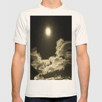 Signs in the Sky Collection - I Mens Fitted Tee Natural SMALL
