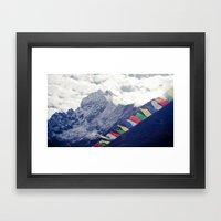 Elevation Framed Art Print
