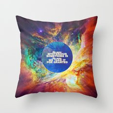 Mysterious Something Throw Pillow