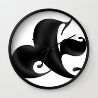 Bold Ampersand Wall Clock