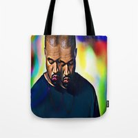 Kvnye Omari West Tote Bag