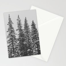 Snowy Tree Tops Stationery Cards