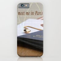 Meet Me In Paris iPhone 6 Slim Case