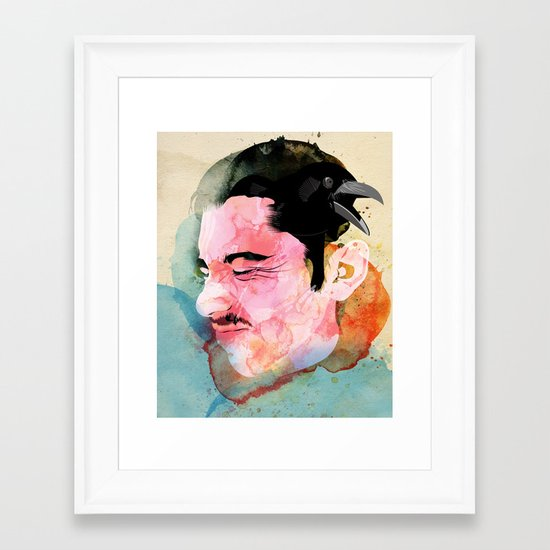 Graznido Framed Art Print
