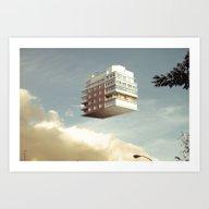 Art Print featuring No Way Home (1) by Rafa Zubiria